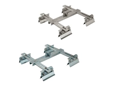 Anchor plate for sheet metal roofs RIVER | Fall arrest system