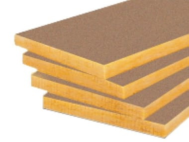 Sound insulation and sound absorbing panel in mineral fibre URSA FDP 2