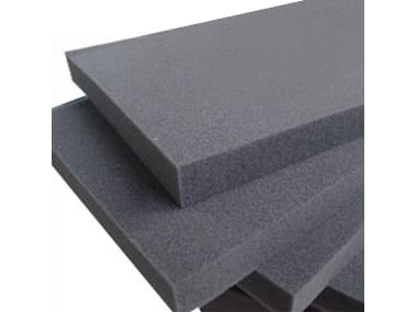 Sound insulation and sound absorbing felt in synthetic material POLIESTIC®