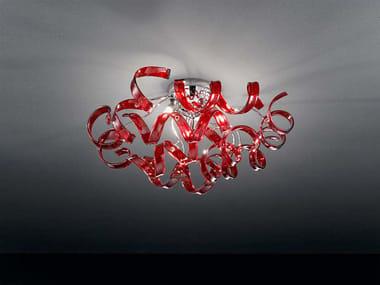Lampada da soffitto in cristallo ASTRO | Lampada da soffitto