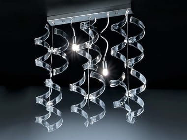 Crystal ceiling lamp ASTRO | Ceiling lamp