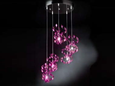 Crystal pendant lamp ASTRO | Pendant lamp