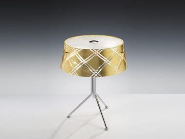 Gold leaf table lamp CORALLO | Table lamp