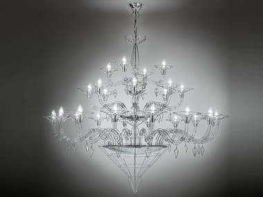 Metal chandelier DEDALO   Chandelier