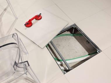 Modular system for raised flooring Raised floor