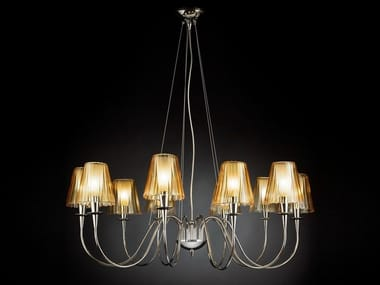 Stained glass chandelier OPERA   Chandelier
