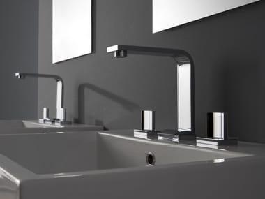 3 hole countertop washbasin tap TARGA | 3 hole washbasin tap
