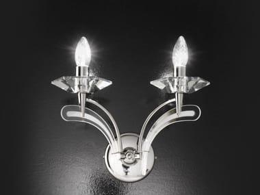 Lampada da parete in cristallo ICARO | Lampada da parete