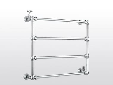 Wall-mounted chrome towel warmer ROMA | 983B