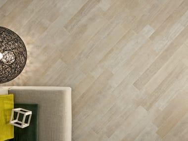 Pavimento/rivestimento in gres porcellanato effetto legno LEGNI HIGH-TECH  Rovere Corda