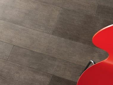 Pavimento/rivestimento in gres porcellanato effetto legno LEGNI HIGH-TECH | Rovere Tundra