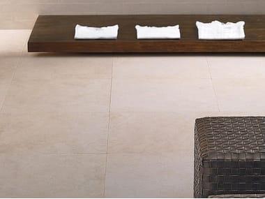 Pavimento/rivestimento in gres porcellanato a tutta massa effetto pietra PIETRE HIGH-TECH - CREMA EUROPA