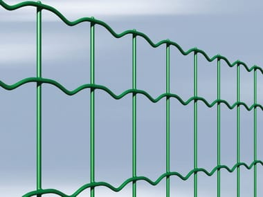 Plasticized electrically welded mesh Fence NOVAPLAX