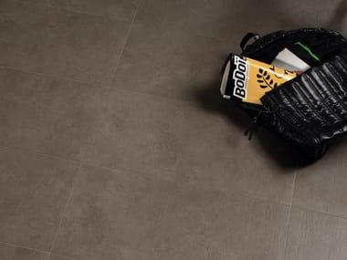 Pavimento/rivestimento effetto cemento SPAZIO