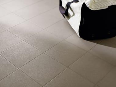 Anti-slip single-fired ceramic flooring QUARZ