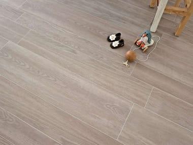 Pavimento in gres porcellanato effetto legno TREVERK