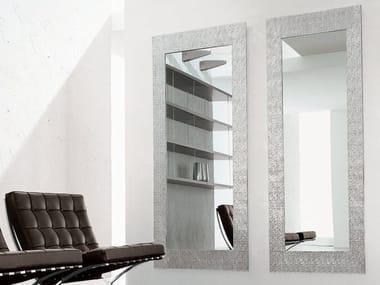 Specchio rettangolare con cornice LOOK AT ME