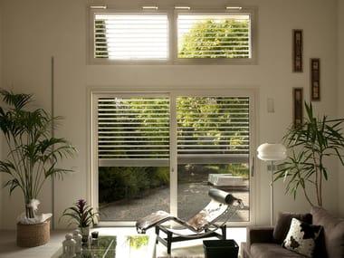 Aluminium and wood thermal break window Thermal break window