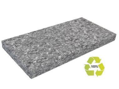 Polyester fibre thermal insulation panel RECOTHERM-PL