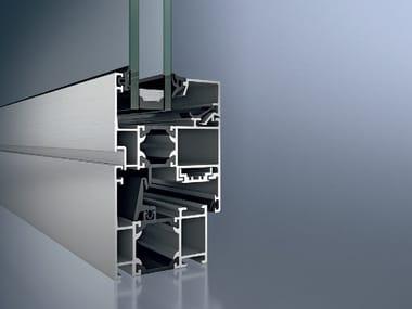 Finestra a taglio termico in alluminio Schüco AWS 60