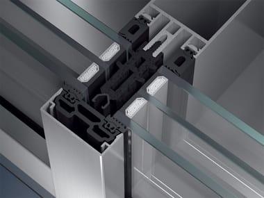 Sistema per facciata continua Schüco FW 50+.SI / FW 60+.SI