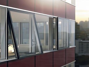 Facciata strutturale vetrata Schüco FW 50+ SG