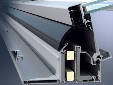Veranda in alluminio Schüco CMC 50