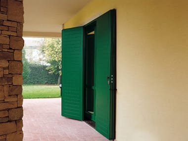 Steel panel shutter Panel shutter