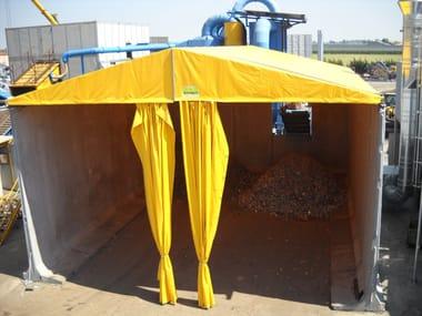 Precast reinforced concrete structural component Capannone mobile