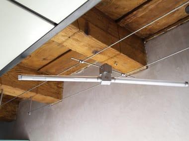 Lampada a sospensione a LED su cavi PERSEO LED | Lampada a sospensione su cavi