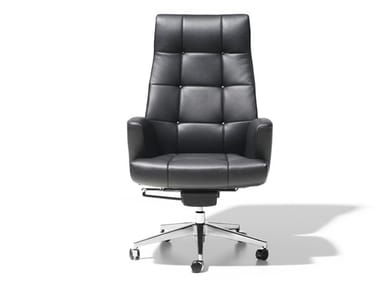 Executive chair with 5-spoke base with casters DS-257 | Executive chair