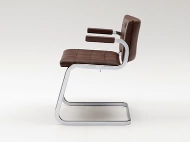Cadeira cantilever com braços RH-305 | Cadeira com braços