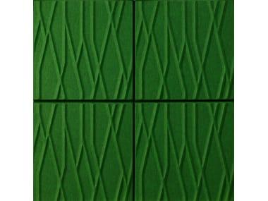 Panneaux acoustiques décoratifs en fibre de polyester SOUNDWAVE® BOTANIC