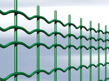 Plasticized electrically welded mesh Fence STILPLAX