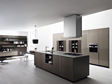Cucina con isola KALEA - COMPOSIZIONE 5 By Cesar Arredamenti design ...