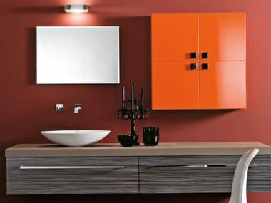 Mobile lavabo sospeso con cassetti MARIPOSA 25