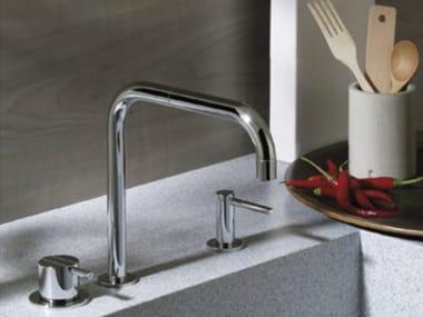 Countertop kitchen mixer tap with swivel spout 590T36 | Kitchen mixer tap