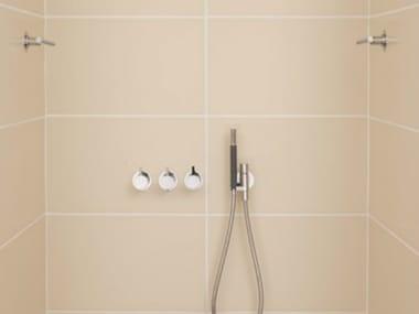 Mezclador de ducha con ducha de mano con cabeza de ducha COMBI 10 | Mezclador de ducha