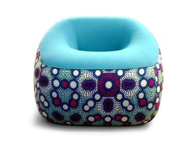 Fabric armchair SWAMP
