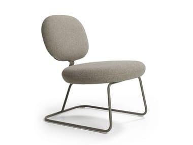 Upholstered fabric easy chair VEGA | Easy chair