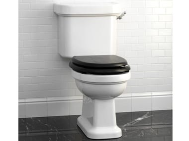 Close coupled ceramic toilet BLUES | Close coupled toilet