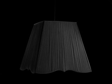 Fabric pendant lamp NOTTURNO 1