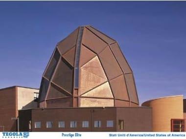 Copper roof tile PRESTIGE ELITE