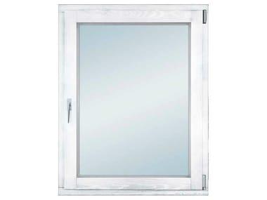 Aluminium and wood thermal break window ETERNITY CLIMA 68