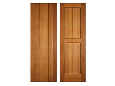 Oak panel shutter ROVIGO