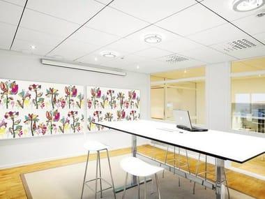 Panneau acoustique décoratif en laine de verre Akusto™ Wall C