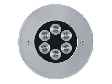 Segnapasso a LED a pavimento 1200 MINI INOX | Segnapasso