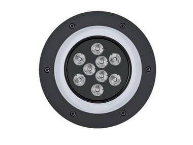 Segnapasso a LED a pavimento in alluminio 2100 MEDIO | Segnapasso