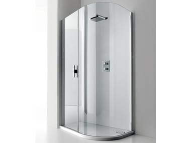 Shower cabin with tray LUXOR 140 S