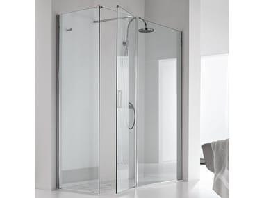 Rectangular shower cabin WALL PA+F1